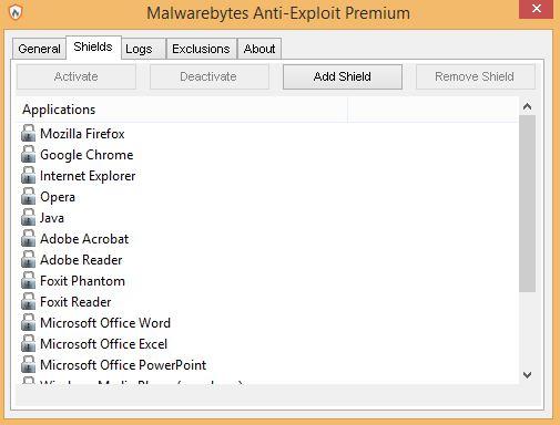 Malwarebytes Anti-Exploit Premium 1.13.1.63 & Clave de registro (Ultima versión)