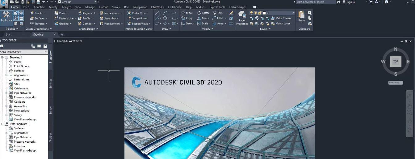 AutoCAD Civil 3D 2020 & Clave de registro (Ultima versión)
