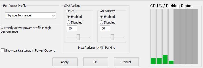 Bitsum ParkControl 32/64bit 1.3.1.8 & Clave de registro (Ultima versión)