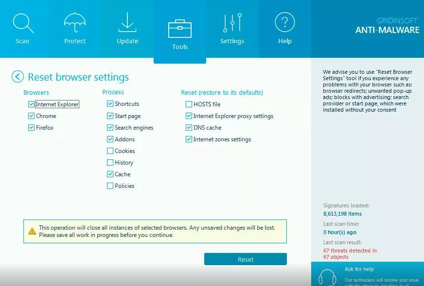 GridinSoft Anti-Malware 4.0.46 & Clave de registro (Ultima versión)