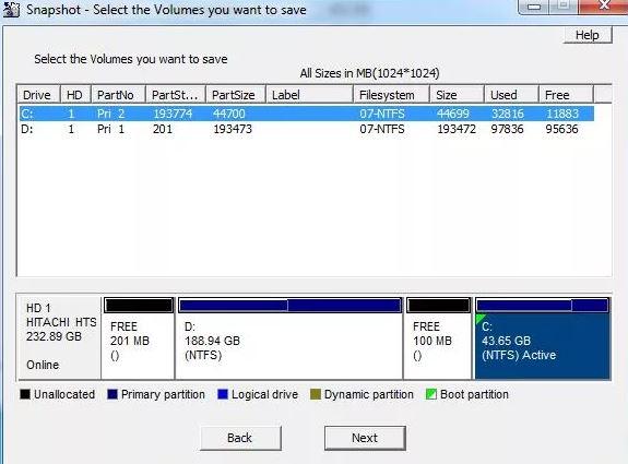Drive SnapShot 1.47.0 & Clave de registro (Ultima versión)