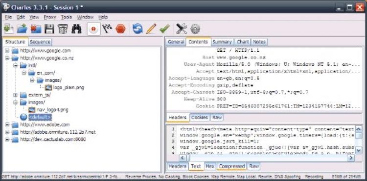Charles 4.2.8 para Windows (Ultima versión)