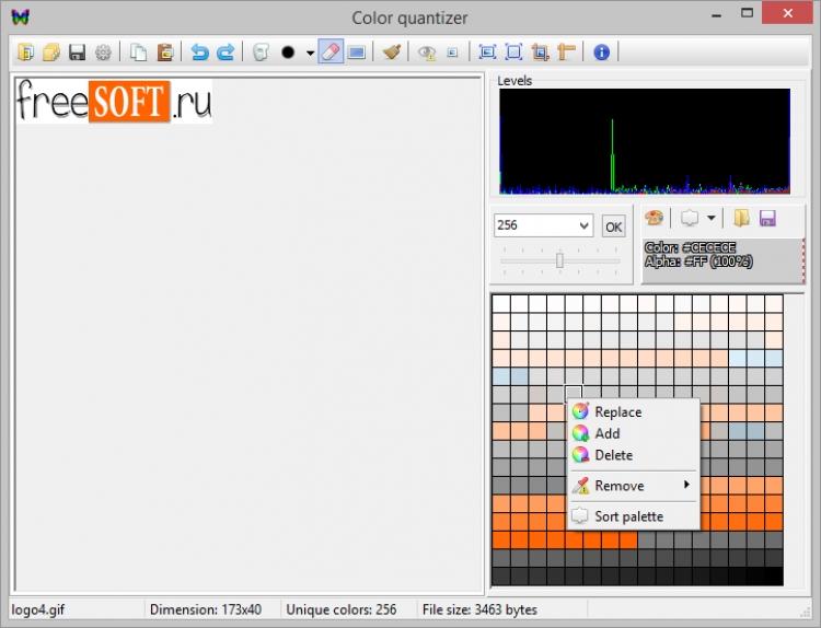 Color quantizer 0.7.4.4 para Windows (Ultima versión)