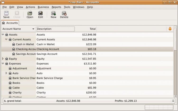 GnuCash 3.7 para Windows (Ultima versión)