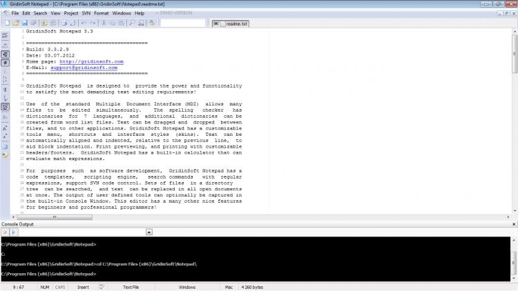 GridinSoft Notepad 3.3.2.9 para Windows (Ultima versión)
