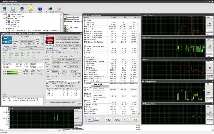 HWiNFO 6.12 para Windows (Ultima versión)