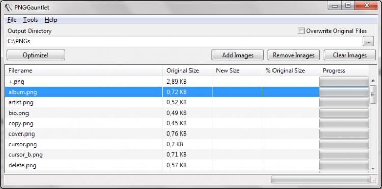 PNGGauntlet 3.1.2 para Windows (Ultima versión)