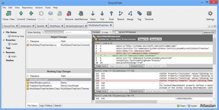 SourceTree 3.0.17 para Windows (Ultima versión)