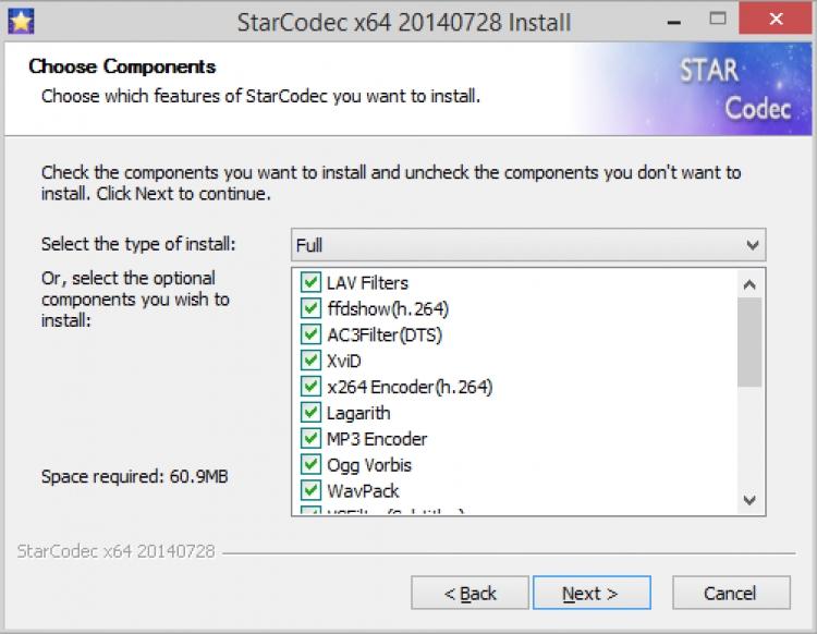 StarCodec 3.0.0 para Windows (Ultima versión)