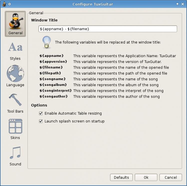 TuxGuitar 1.5.2 para Windows (Ultima versión)