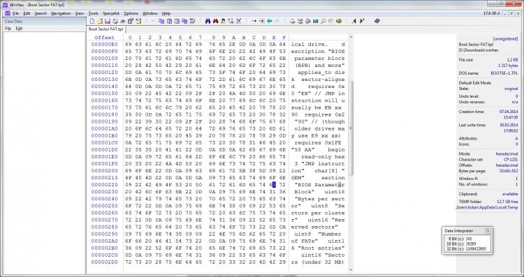 WinHex 19.8 & Clave de registro (Ultima versión)