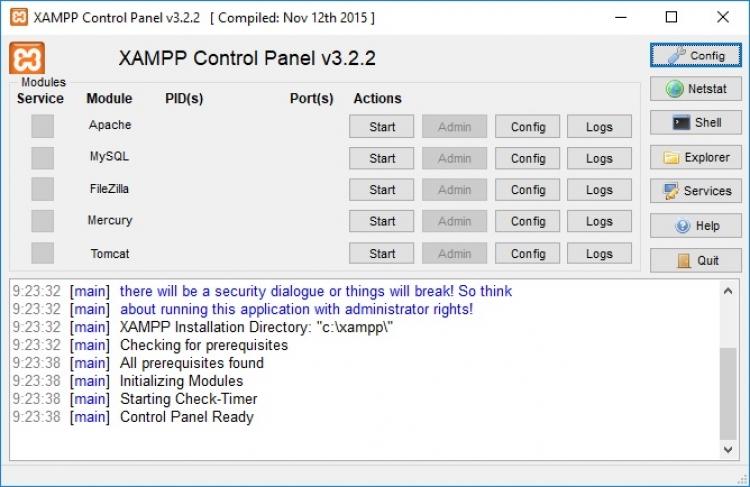 XAMPP 7.3.10 para Windows (Ultima versión)