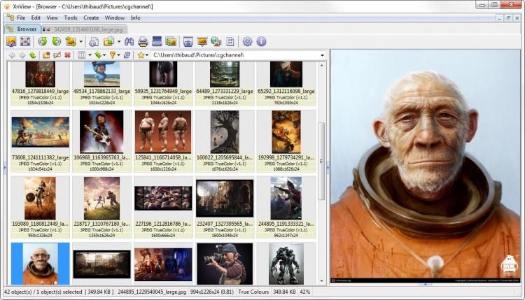 XnView 2.49 para Windows (Ultima versión)