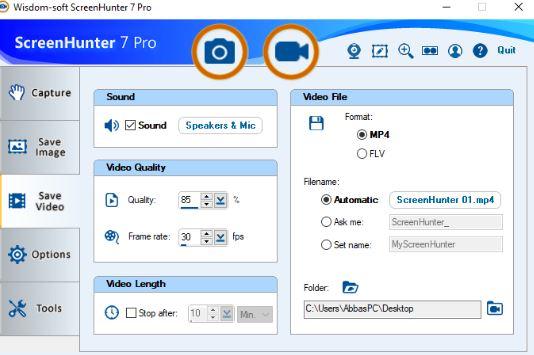 ScreenHunter Pro 7.0.1055 & Clave de registro (Ultima versión)